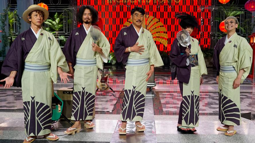 東京事変 FNS歌謡祭2020夏で『女の子は誰でも』『赤の同盟』を披露!